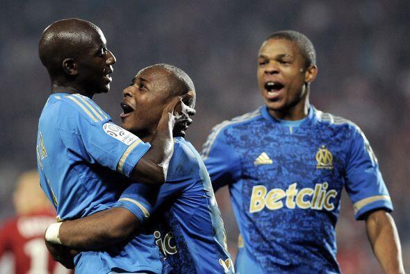 Los que sí pudieron fueron los jugadores del Marsella.