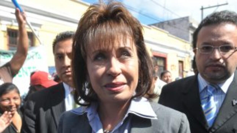 Sandra Torres, ex primera dama de Guatemala.
