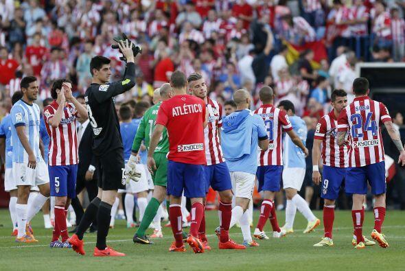 Atlético acabó empatando 1-1 y dejando que todo se deba definir en la fe...