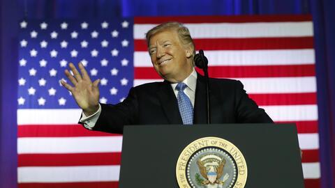 Trump presentó su reforma de impuestos este martes en el Farm Bur...
