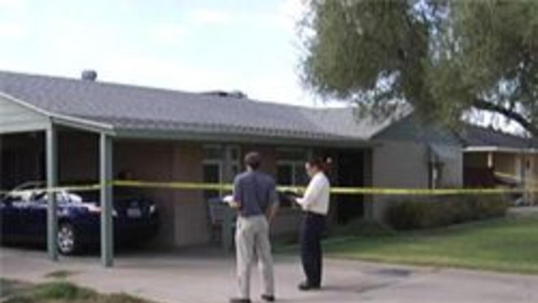 Casa donde encontraron a la victima