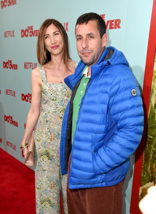 Adam Sandler y Jackie Sandler