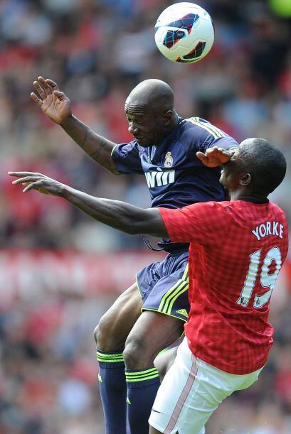 Claude Makelele y Yorke jugaban con tal intensidad como en su épo...