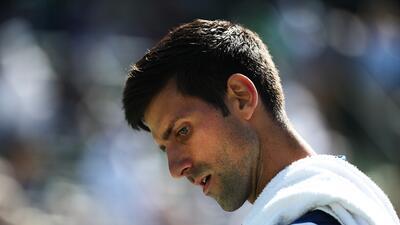 Novak Djokovic no levanta el vuelo y pierde en su primer partido en Miami Open
