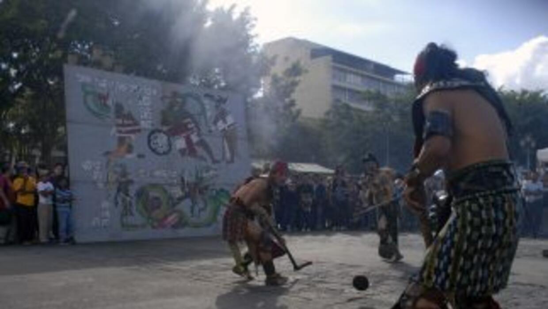 Los grupos mayas festejaron con diversas ceremonias el comienzo del últi...