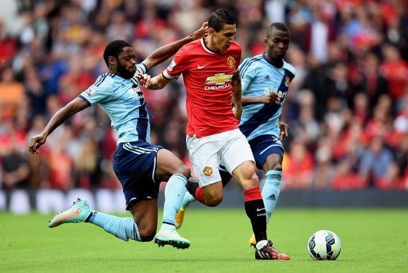 Mientras tanto, en Manchester, su vecino el United enfrentaba al West Ha...