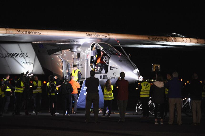 De Nueva York, el Solar Impulse 2 alzará vuelo a Europa.