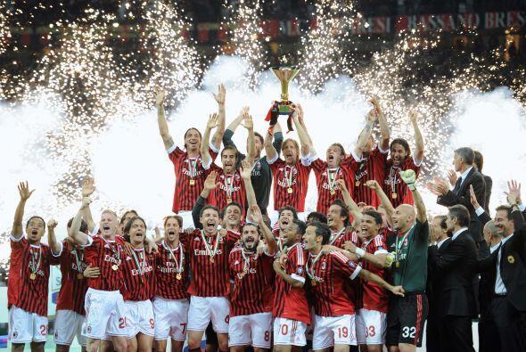 El momento esperado por todos los fanáticos del Milan, los jugadores con...