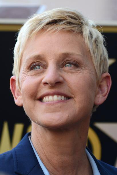 La personalidad de Ellen DeGeneres la colocó en el puesto 51.