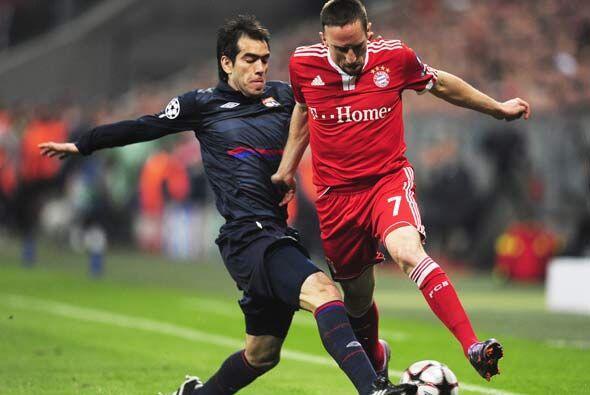 Bayern Munich y Lyon protagonizaron el encuentro de Ida de la segunda Se...