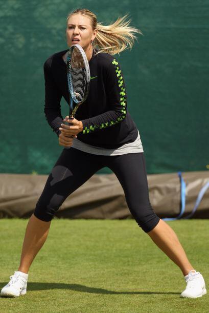 A pesar de eso, Sharapova acabó la temporada en el puesto 18 del ranking...