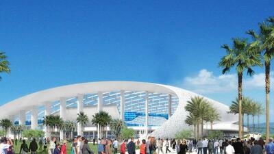 Así será el nuevo estadio de los Rams, sede del Super Bowl LV