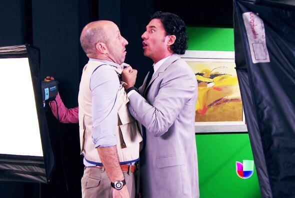 Lo bueno es que Armando salió en tu defensa. Además, lo salvó de tu furia.