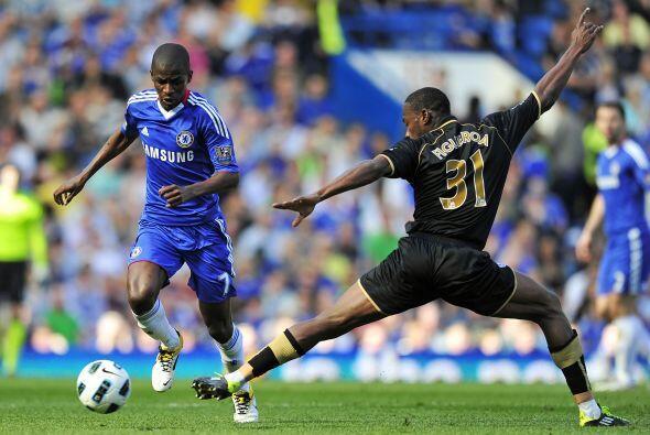 Chelsea se enfrentó al Wigam y salió victorioso.
