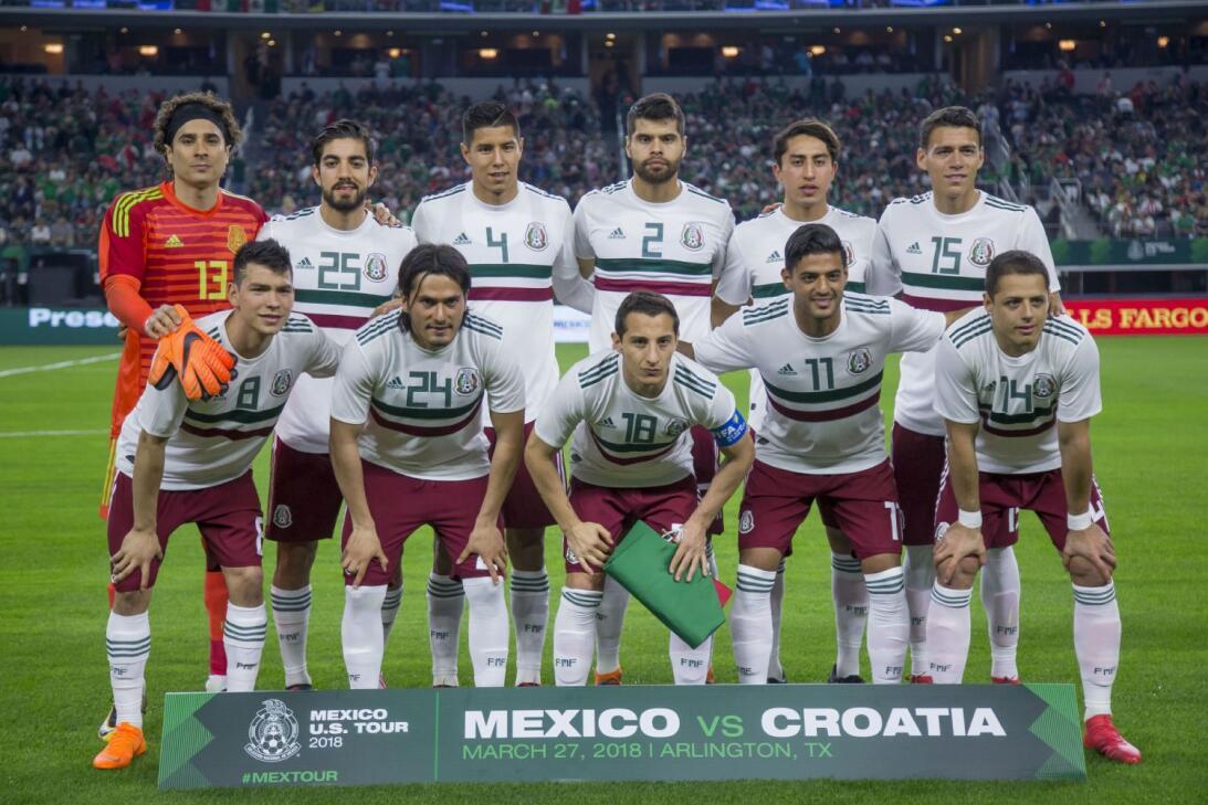 Las calificaciones de la Selección Mexicana en su amistoso ante Croacia...
