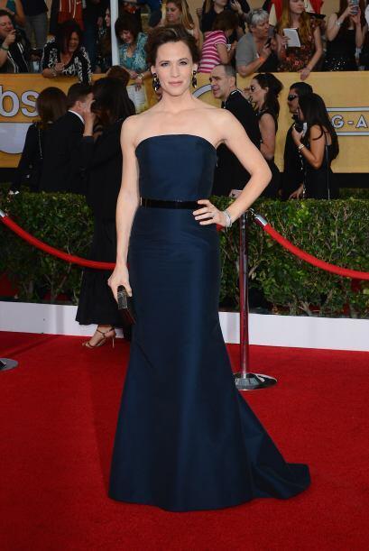 Este vestido de Max Mara hizo que el cuerpo de Jennifer Garner luciera c...