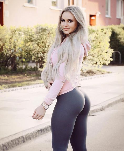 Anna Nystrom, la despampanante sueca con cuerpo escultural gracias al fi...