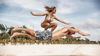 Sebastián Rulli y Angelique Boyer revelan el misterio de sus perfectas fotos en Instagram