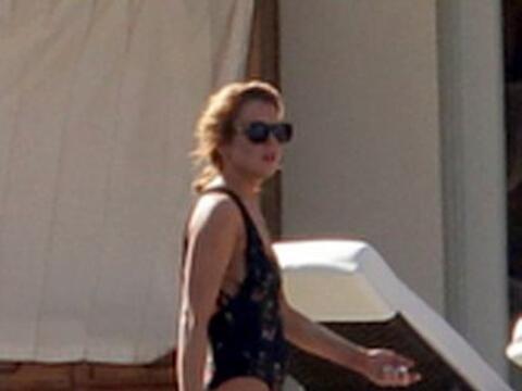 Lindsay Lohan llegó a Miami con su hermano y amigos para asistir...