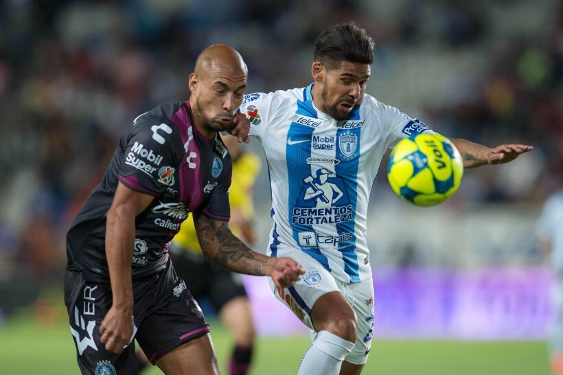 Puebla saca de Pachuca un meritorio empate sin goles Franco Jara Pachuca...