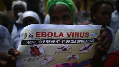 La lucha contra el ébola