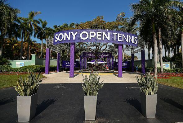 Antes del Torneo de Miami en Key Biscayne, la fiesta previa se llenó de...