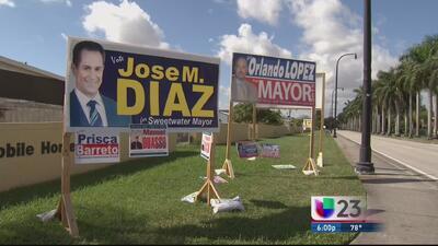 José Díaz queda fuera de la boleta de Sweetwater