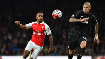 Arsenal y Liverpool reparten puntos