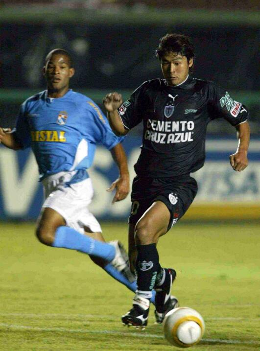 Kenji Fukuda (Japón) llegó a Pachuca Juniors desde Guaraní (Paraguay) y...