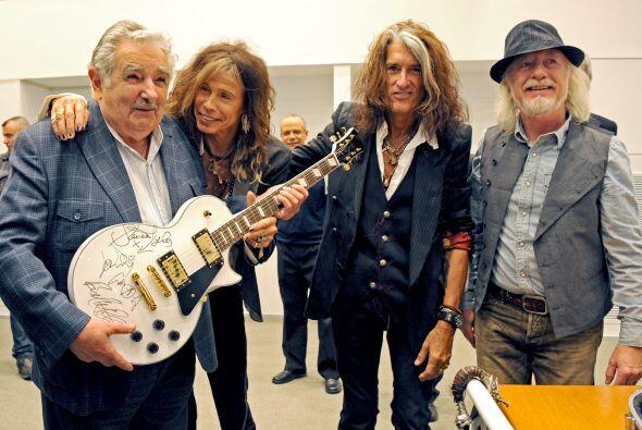 El pedido especial de  Aerosmith en Uruguay  no estuvo rodeado de comodi...