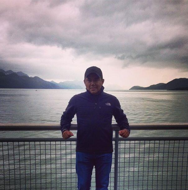 Uno de los primeros lugares que Raul visitó fue el SeaLife Center.