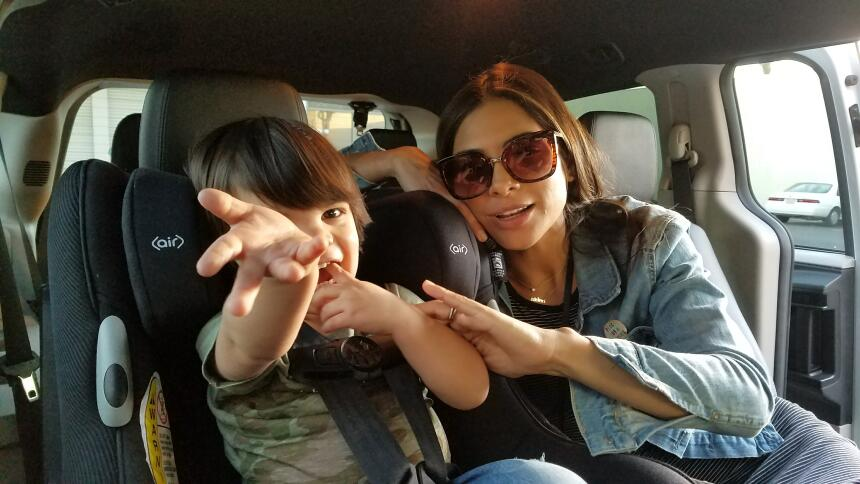 BTS con Alejandra Espinoza