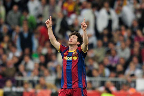 Fue el octavo gol de Messi en los 'Clásicos' contra el Real Madrid, el g...