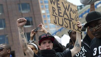 Protestas de Baltimore se extienden a todo país