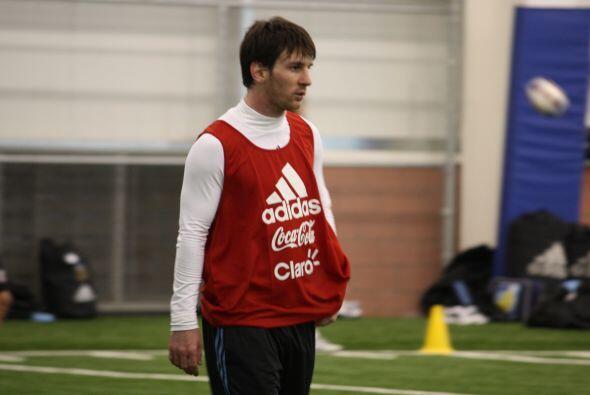 La figura, como siempre, fue Lionel Messi.