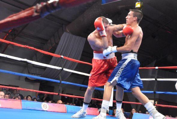 El último combate, en pesado ligero fue entre Caleb Plant y Tomas Reynoso.
