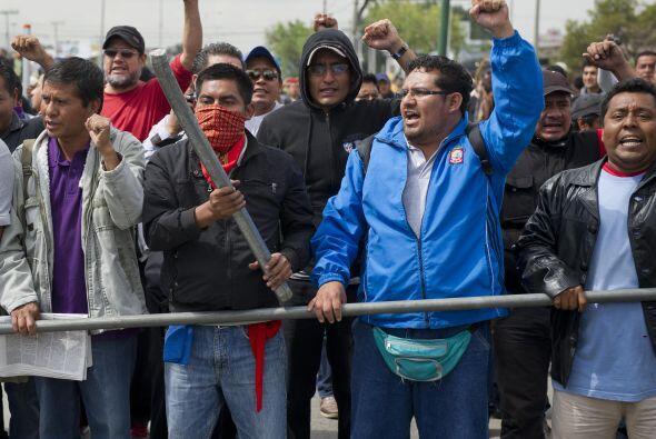Los sindicalistas exigen la derogación de la reforma, que incluy&...