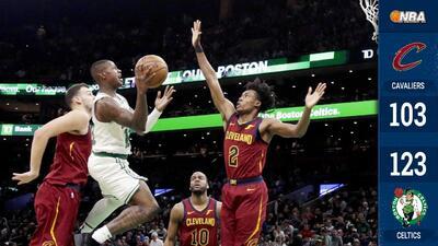 Los Celtics ganan su quinto al hilo a costa de los Cavaliers