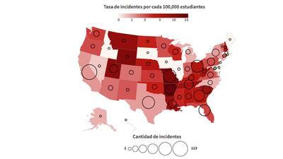 Mapa gun schools