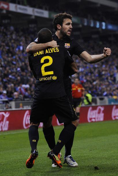 Sólo se jugaban 16 minutos y Cesc Fábregas ponía el...