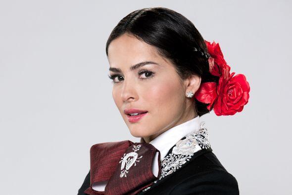 Danna García, con 1.60 metros, es considerada una de las mujeres más her...
