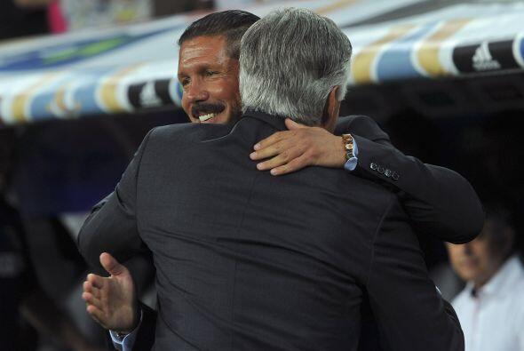 La Supercopa española enfrentaba a Real Madrid y al Atlético de Madrid e...