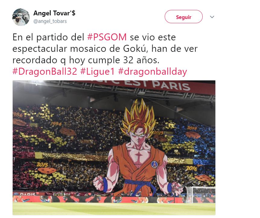 El PSG desplegó un magnífico mosaico para celebrar el número de ligas de...