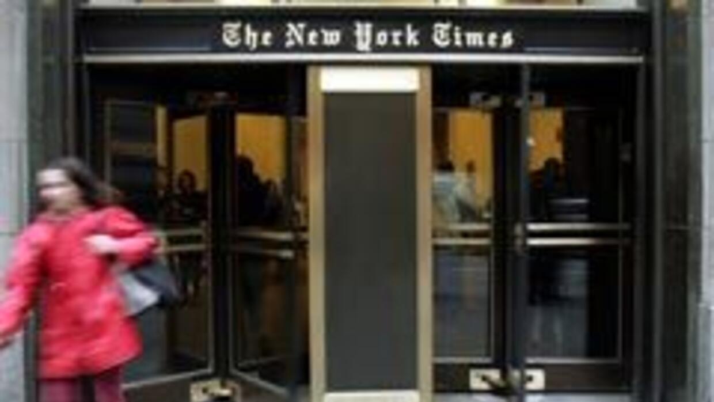 Edificio de The New York Times.