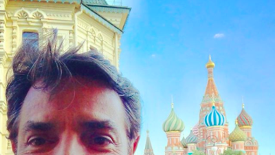 Famosos que viajaron a Rusia para vivir de cerca la emoción del Mundial