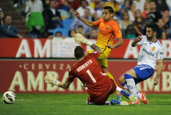 El chileno Alexis Sánchez siguió en su obsesión por marcar, luego de var...
