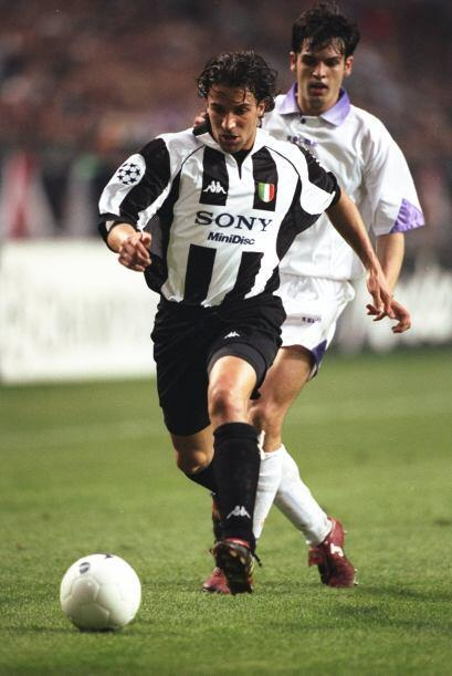 1998: Alessandro Del Piero marcó 10 tantos este año y el hombre de Juven...