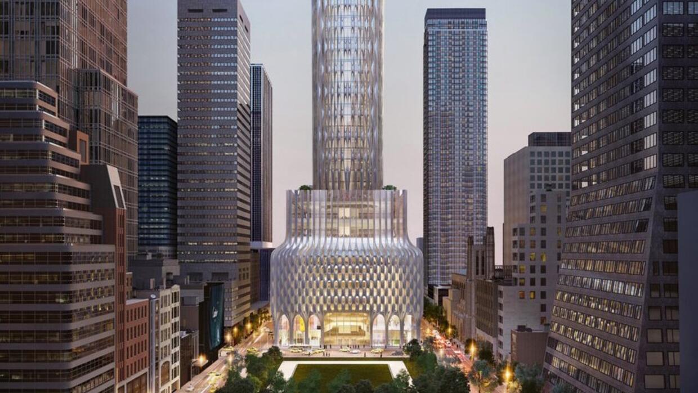 Para ver el edificio completo, sigue hacia abajo.