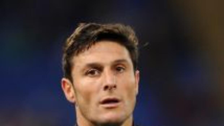 """El capitán del Inter de Milán, el argentino Javier Zanetti, se sentía """"e..."""