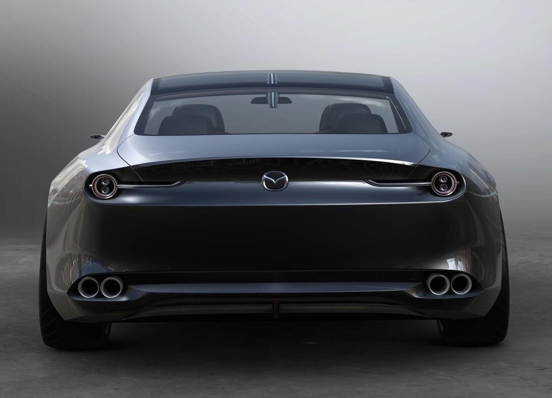 El Mazda Vision Coupe Concept busca conmocionar a los asistentes del Aut...